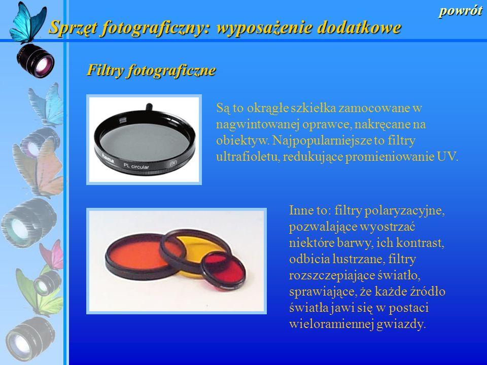 powrót Mieszki makro Specjalne nasadki optyczne, nakładane na obiektyw, oraz pierścienie i mieszki makro, umieszczane między obiektywem a korpusem apa