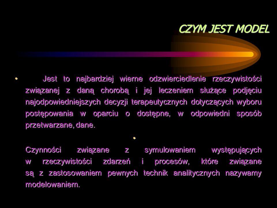 Modelling in pharmacoeconomics