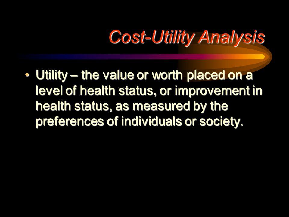 Jakość życia a użyteczności stanu zdrowia