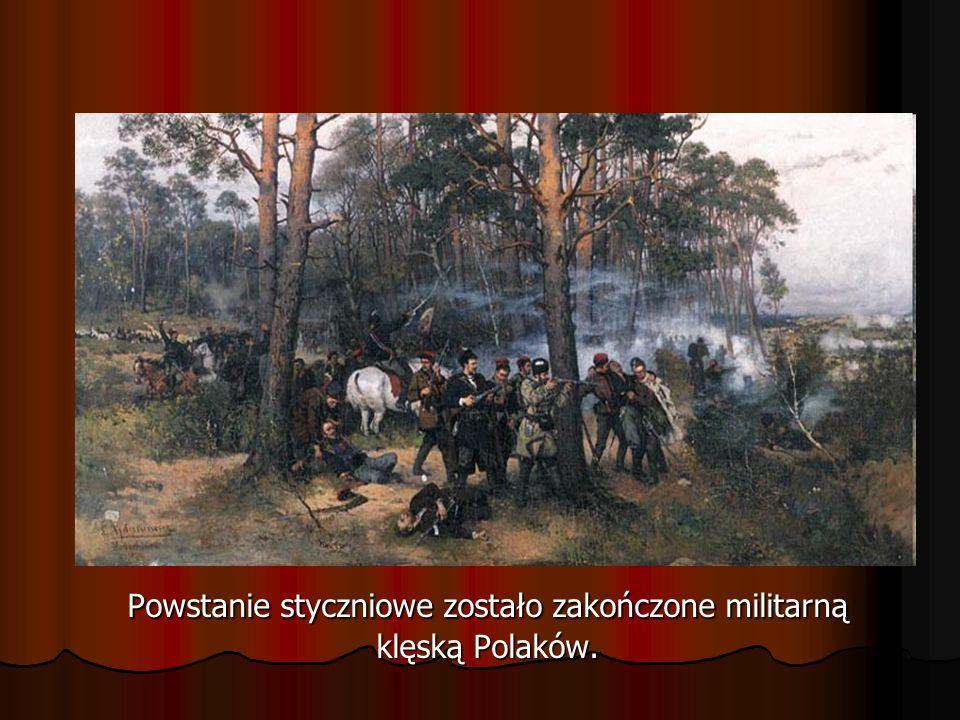 Był rok 1864… Trwało powstanie styczniowe.