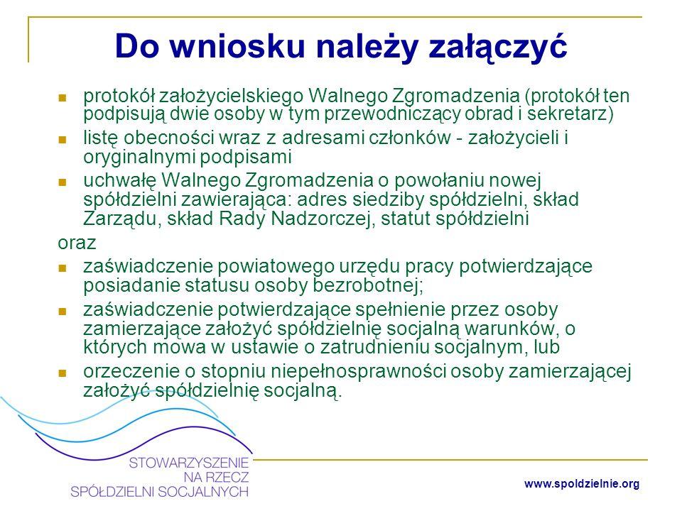 www.spoldzielnie.org Ważne.