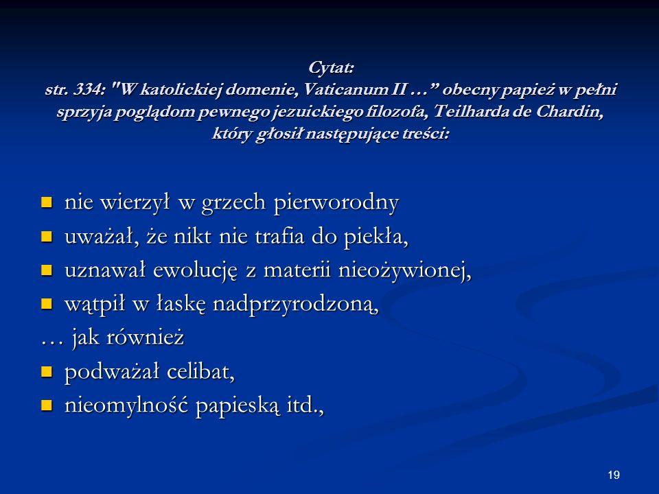 19 Cytat: str. 334: