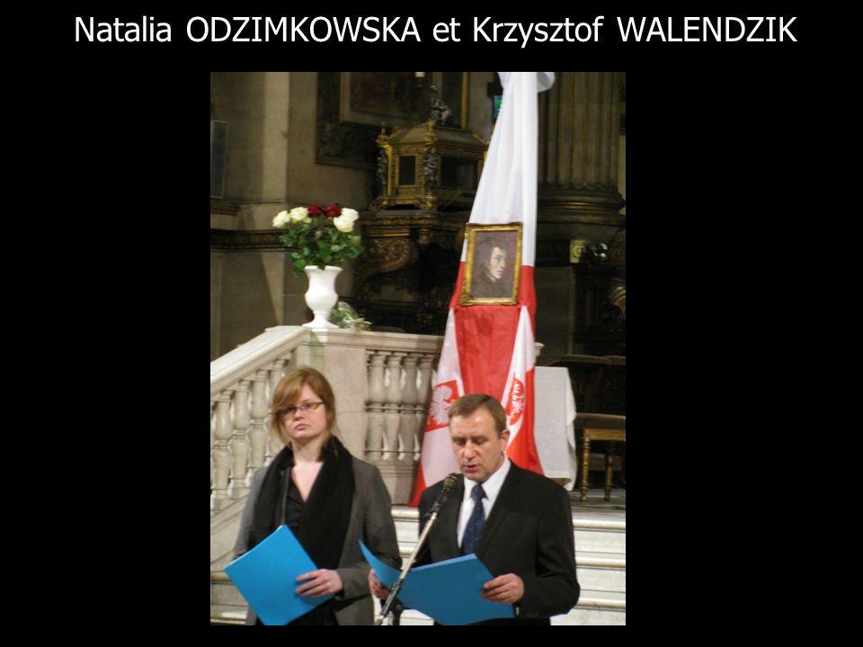 Natalia ODZIMKOWSKA et Krzysztof WALENDZIK