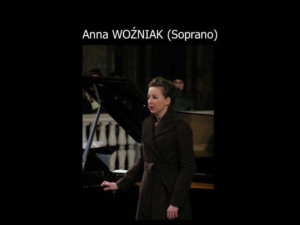 Anna WOŹNIAK (Soprano)