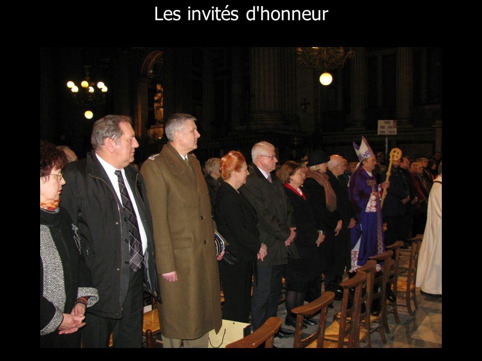 Les invités d'honneur