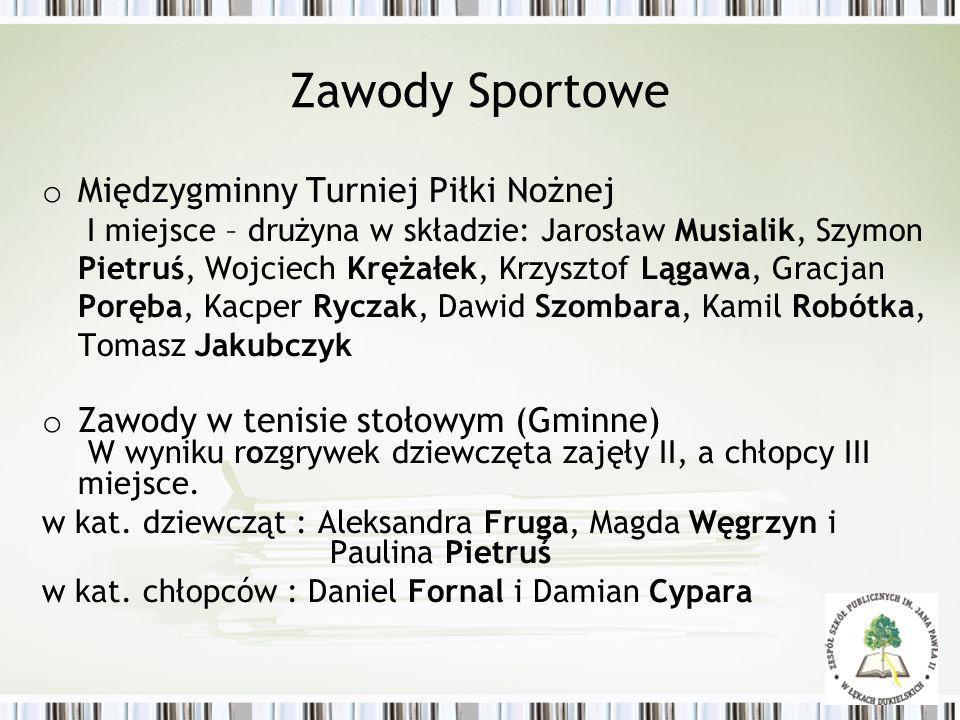 Zawody Sportowe Gminne indywidualne biegi przełajowe w kategorii SP i gimnazjum Gracjan Poręba – I miejsce w kat.