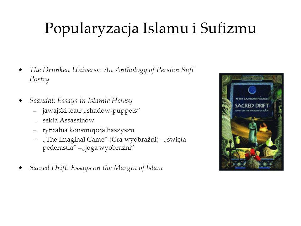 Popularyzacja Islamu i Sufizmu The Drunken Universe: An Anthology of Persian Sufi Poetry Scandal: Essays in Islamic Heresy –jawajski teatr shadow-pupp