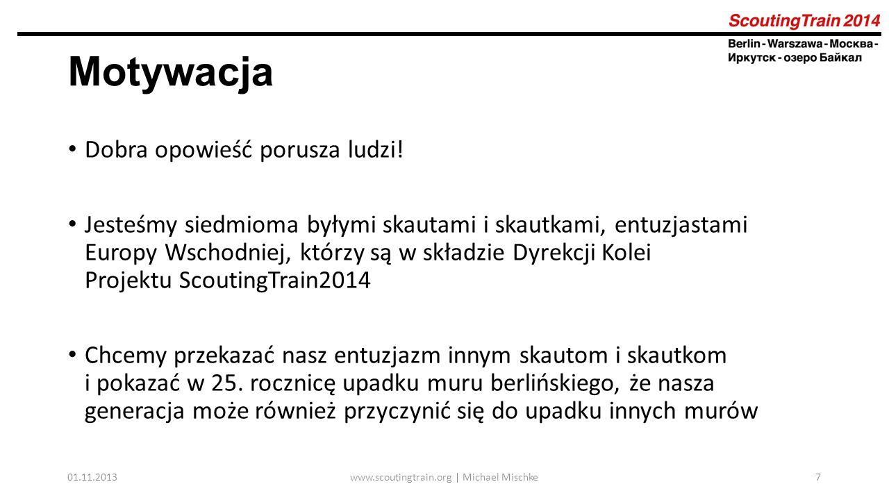 01.11.2013www.scoutingtrain.org | Michael Mischke28 Podróż 2 dzień postoju w Omsku Prezentacja pracy wagonów