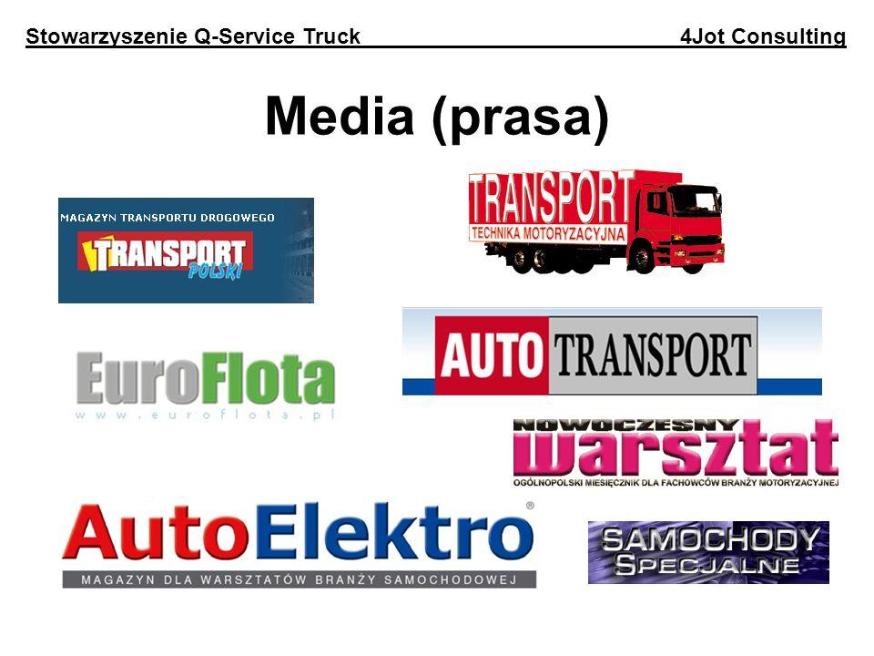 Media (prasa) Stowarzyszenie Q-Service Truck 4Jot Consulting