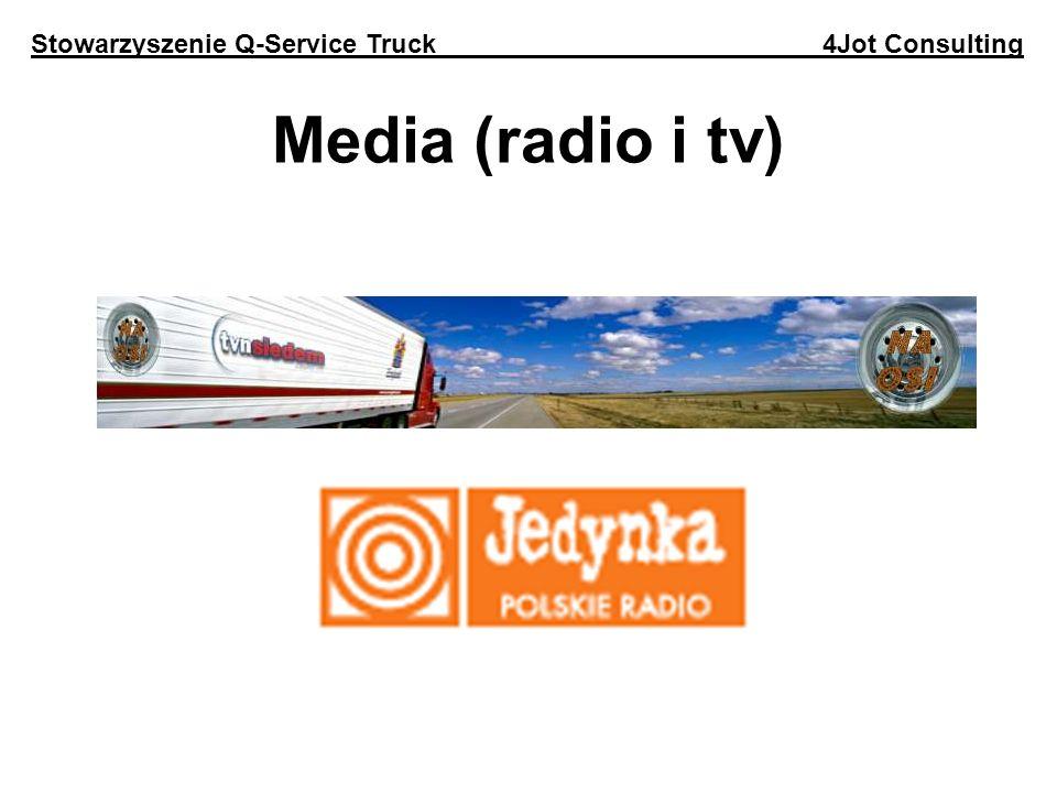 Media (radio i tv) Stowarzyszenie Q-Service Truck 4Jot Consulting