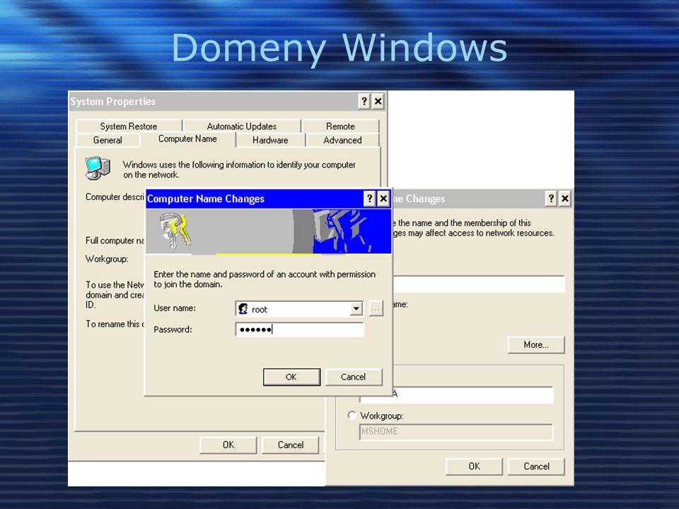 Domeny Windows