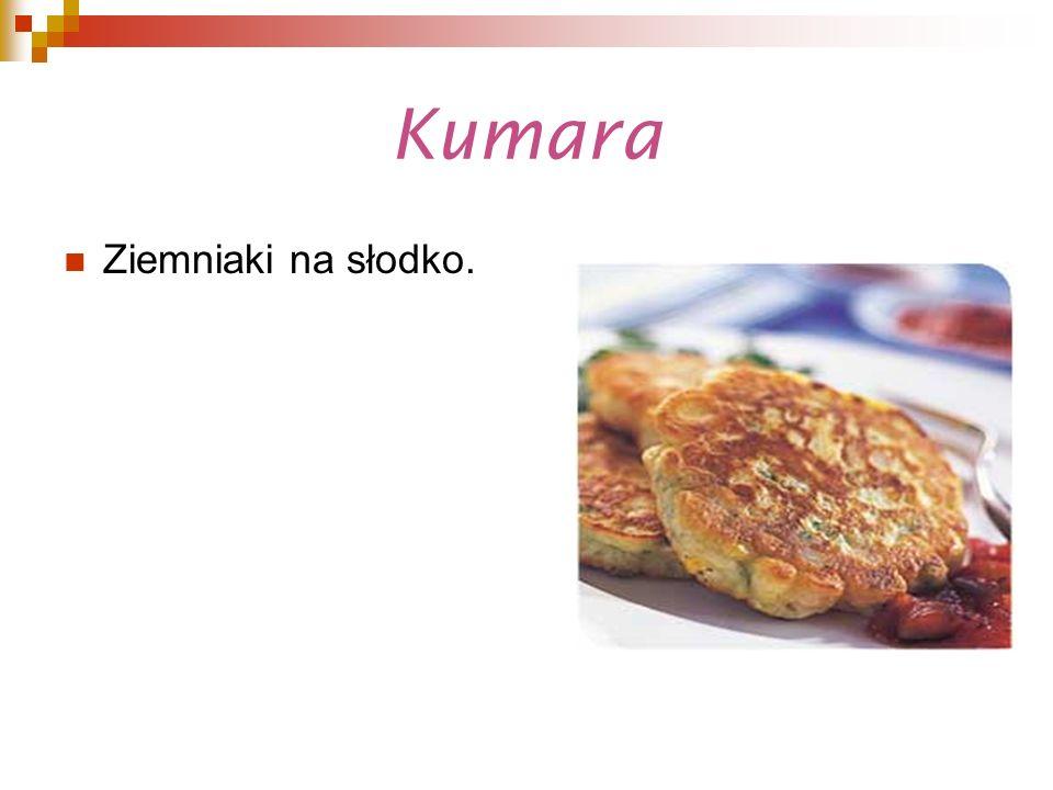 Kumara Ziemniaki na słodko.