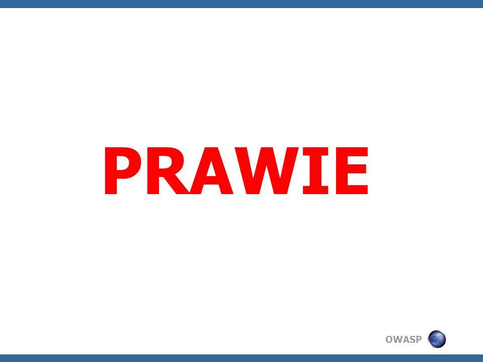 OWASP PRAWIE