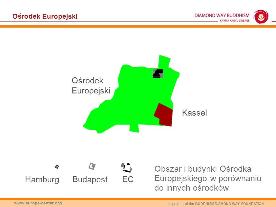 a project of the BUDDHISM DIAMOND WAY FOUNDATION www.europe-center.org Ośrodek Europejski ECBudapestHamburg Ośrodek Europejski Kassel Obszar i budynki