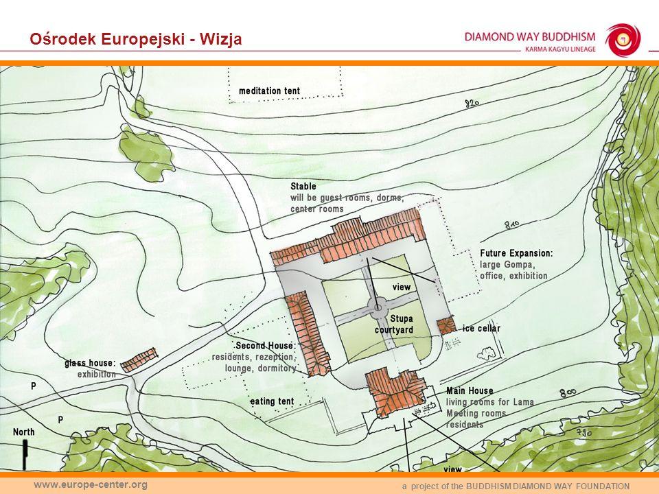 a project of the BUDDHISM DIAMOND WAY FOUNDATION www.europe-center.org Ośrodek Europejski - Wizja