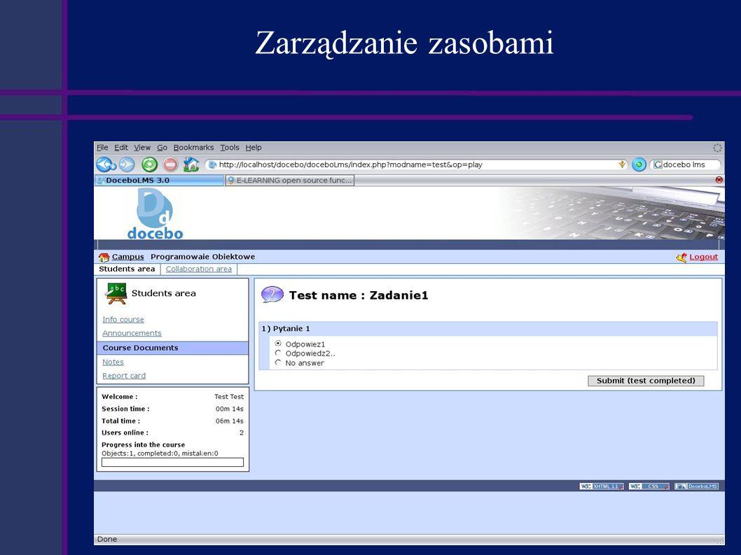 Podsumowanie Zalety: Rozbudowane narzędzia komunikacyjne.