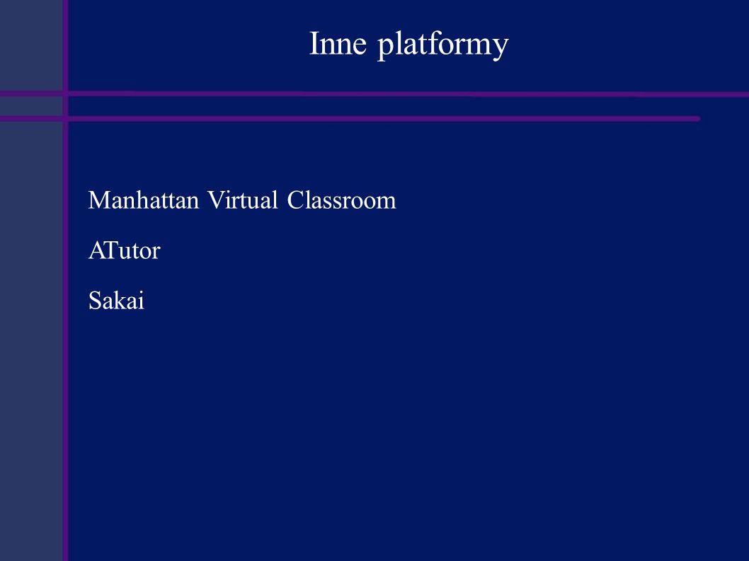 Wnioski Funkcjonalność najbliższą poszukiwanej posiada platforma e-learningowa OLAT.