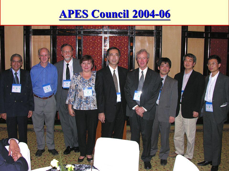 APES Council 2004-06
