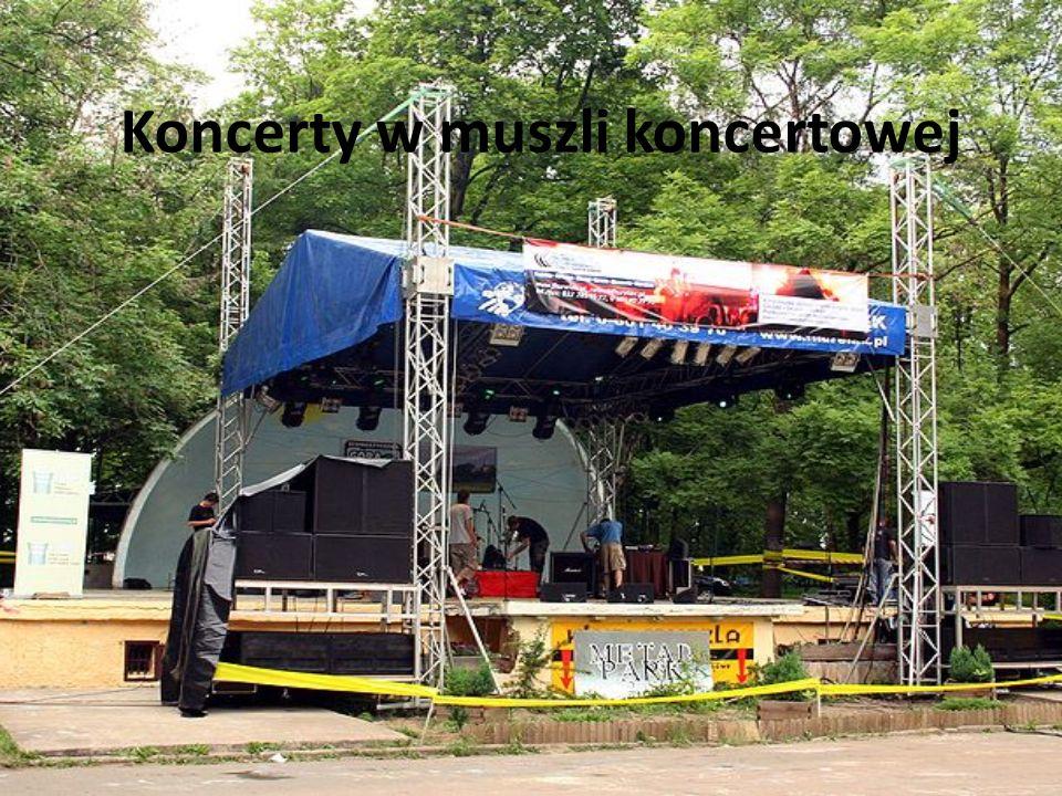Koncerty w muszli koncertowej