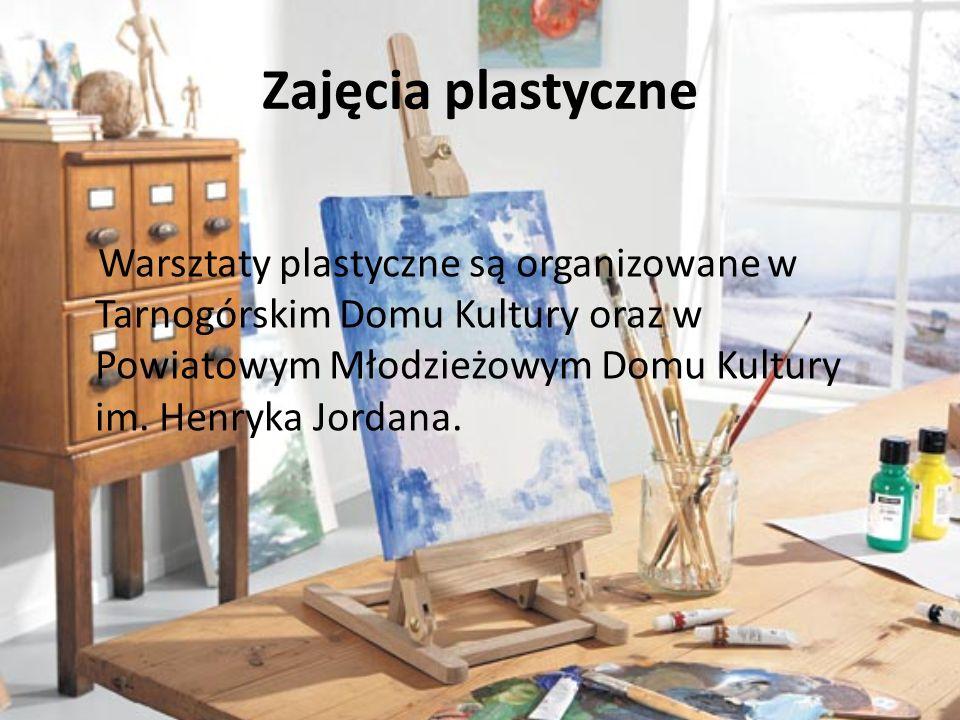 Galerie sztuki, np. : Galeria PrzyTyCK (w Tarnogórskim Centrum Kultury) Inny Śląsk Galeria Sztuki Współczesnej
