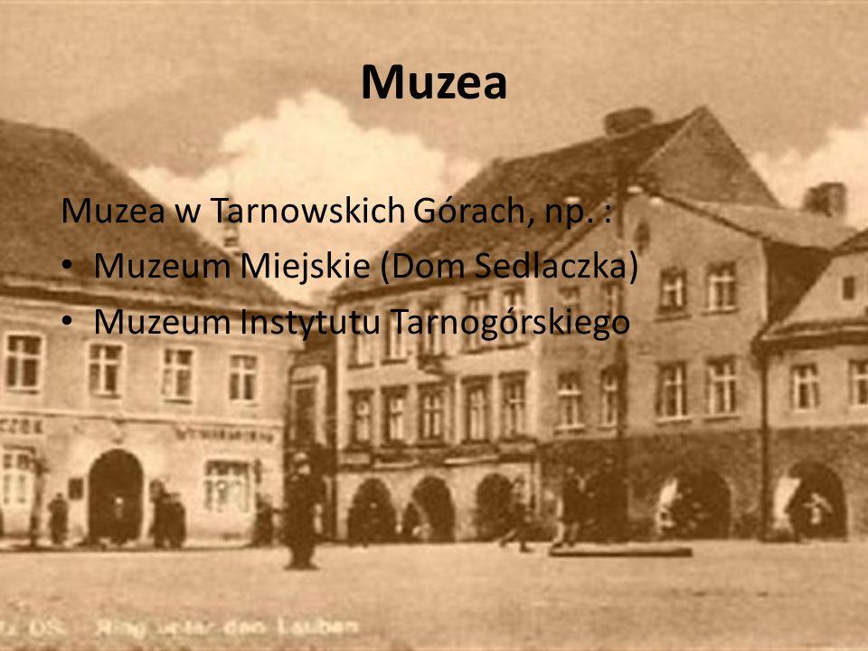 Muzea Muzea w Tarnowskich Górach, np.