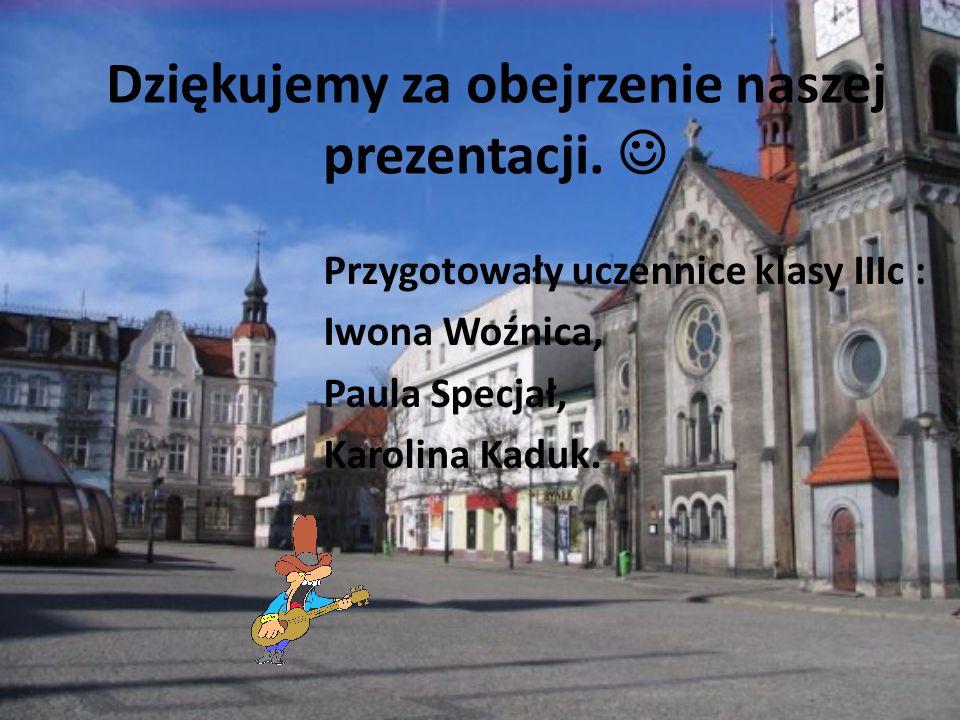 Bibliografia : http://www.gornyslask.net.pl/srodmiescie_tg.htm http://hotel-aslan.pl/atrakcje_tarnowskich_gor.php http://www.tarnowskiegory.pl/tourinf