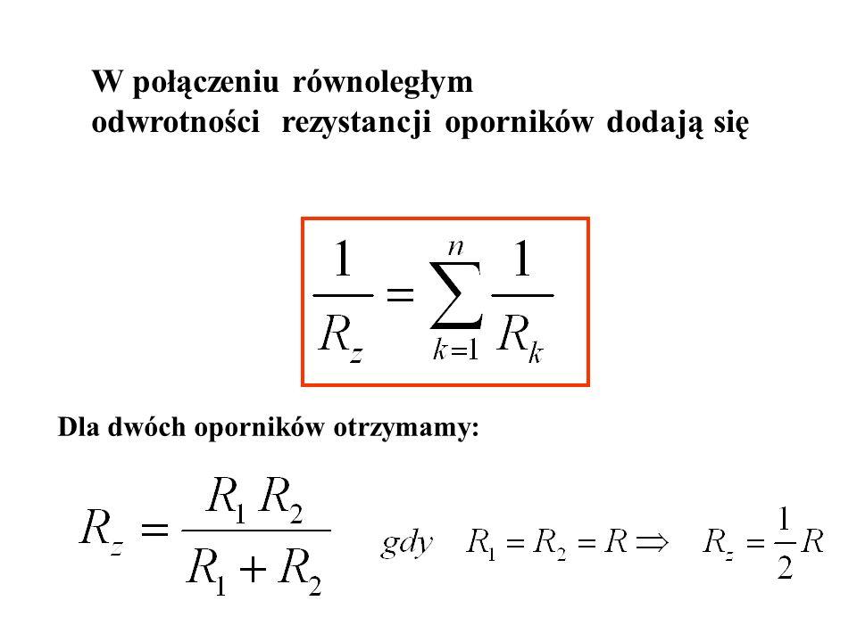 Przykład: R1R1 R2R2 R3R3 i1i1 i2i2 i3i3 A B C R4R4 R5R5 R6R6 u Dane: Celem jest obliczenie prądu w jednej z gałęzi trójkąta, np.