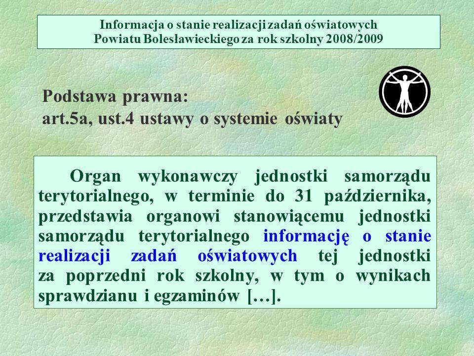 I.ORGANIZACJA SZKÓŁ I PLACÓWEK, cz.
