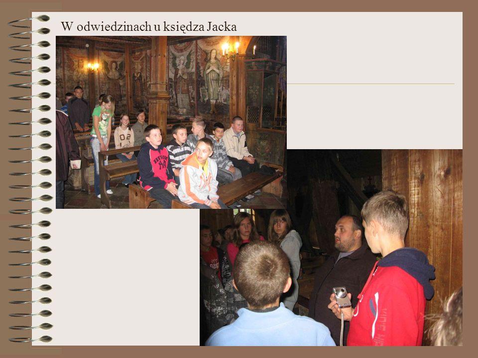 W odwiedzinach u księdza Jacka