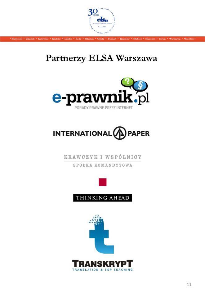Partnerzy ELSA Warszawa 11