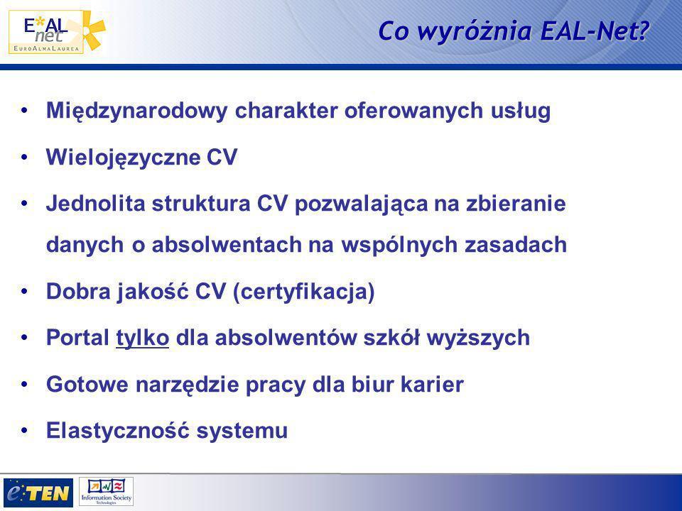 Co wyróżnia EAL-Net.