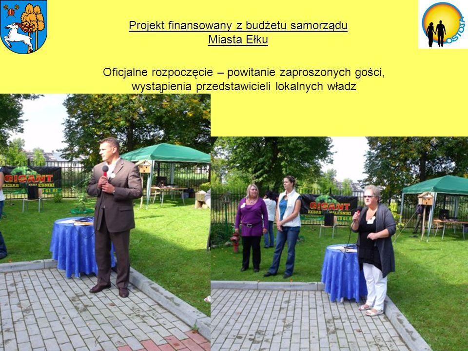 Oficjalne rozpoczęcie – powitanie zaproszonych gości, wystąpienia przedstawicieli lokalnych władz