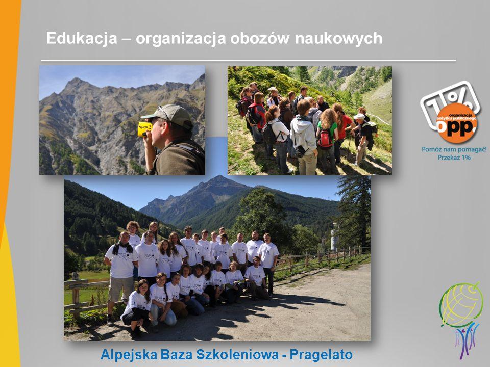 Edukacja – organizacja obozów naukowych Alpejska Baza Szkoleniowa - Pragelato