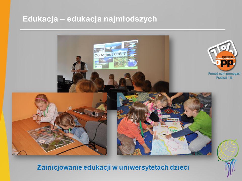 Edukacja – edukacja najmłodszych Zainicjowanie edukacji w uniwersytetach dzieci