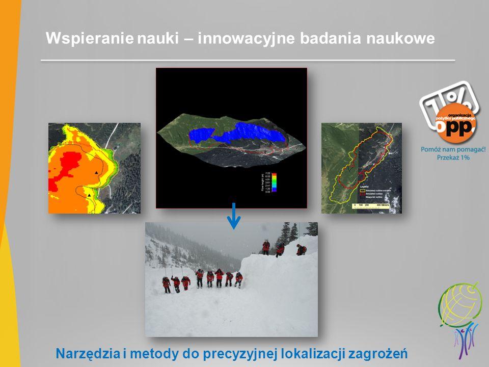 Wspieranie nauki – innowacyjne badania naukowe Narzędzia i metody do precyzyjnej lokalizacji zagrożeń