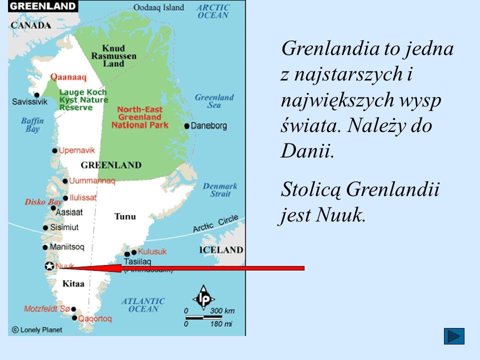 Grenlandia to jedna z najstarszych i największych wysp świata.