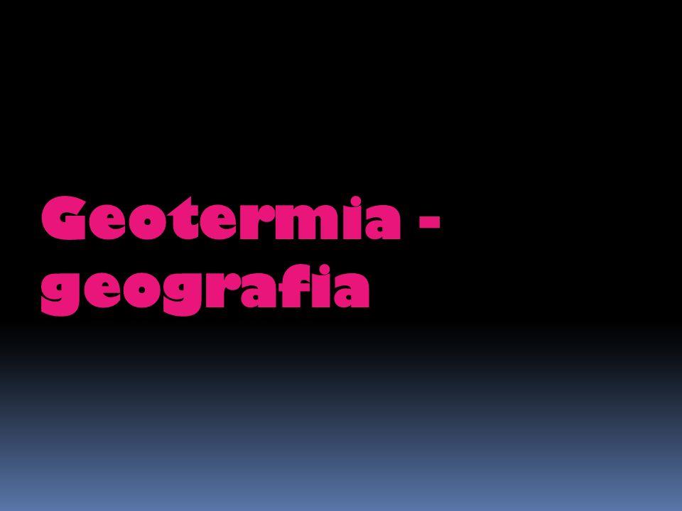 Geotermia - geografia