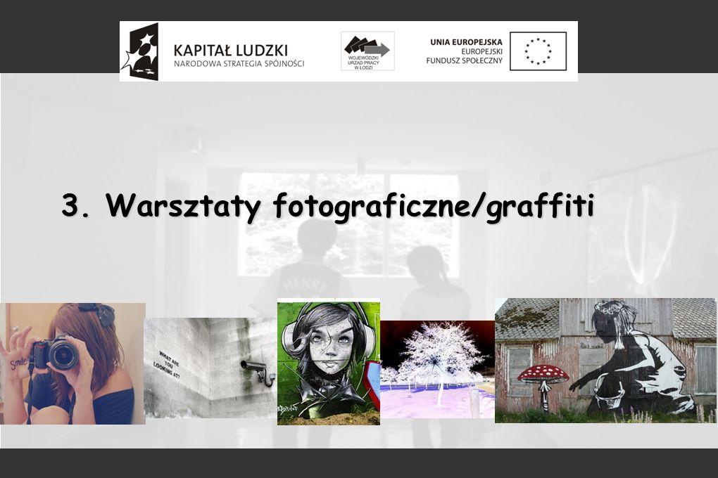 3. Warsztaty fotograficzne/graffiti