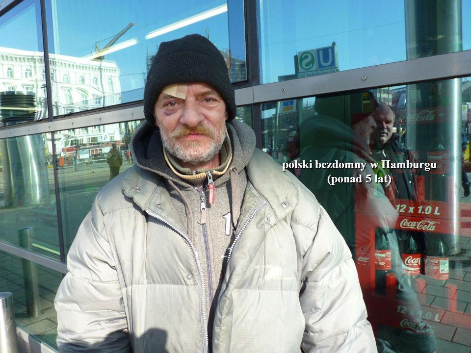 15 polski bezdomny w Hamburgu (ponad 5 lat)