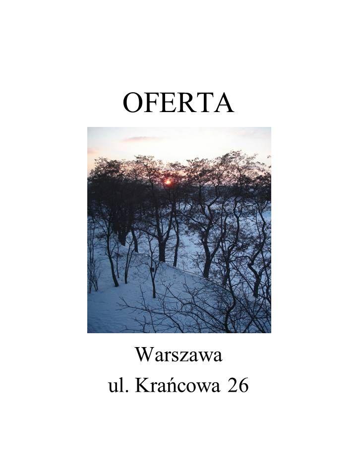 OFERTA Warszawa ul. Krańcowa 26