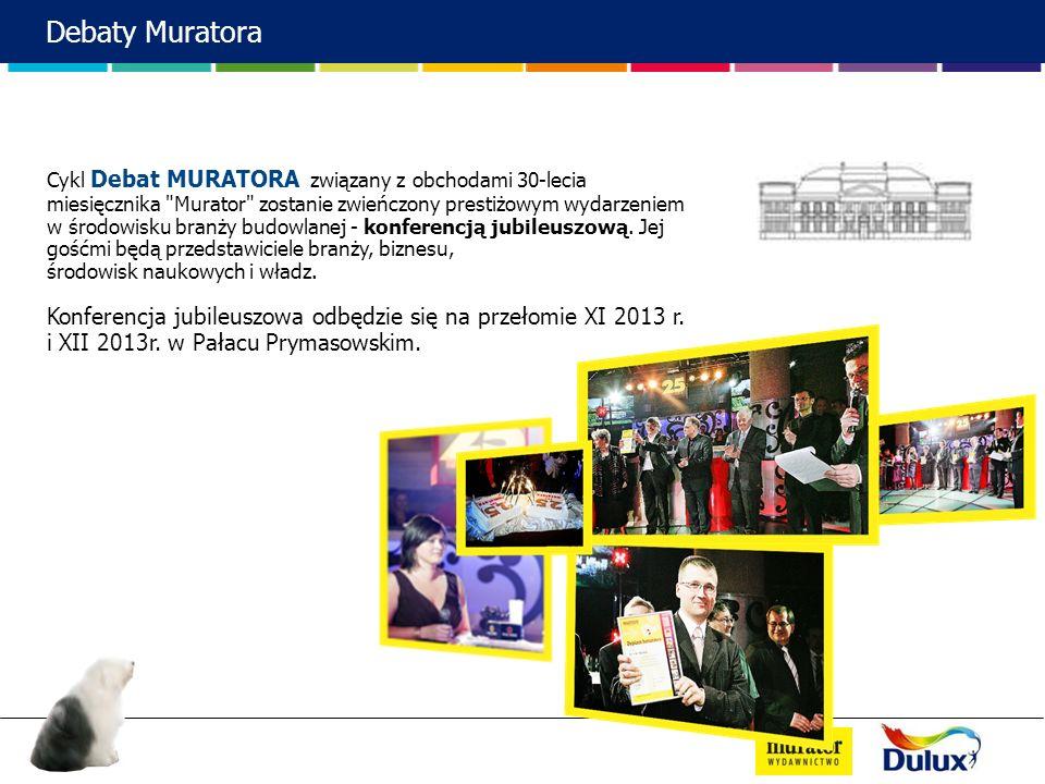 Cykl Debat MURATORA związany z obchodami 30-lecia miesięcznika