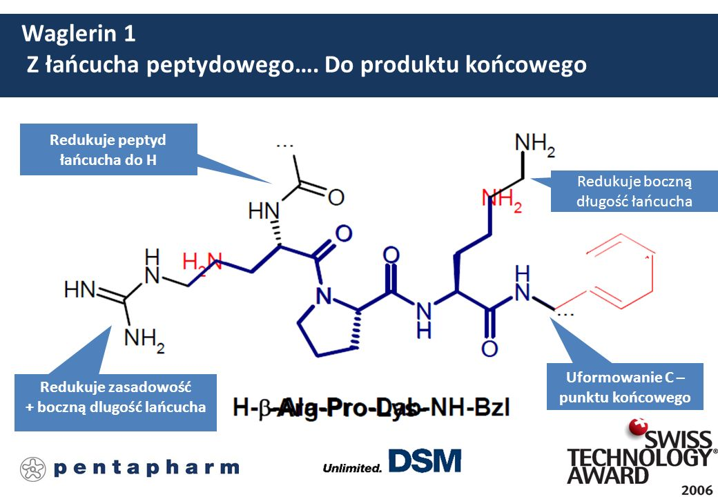 SYN®-AKE Beta-Ala-Pro-Dab-NH-Bzl * 2AcOH Syntetyczny trójpeptyd z wagą molową poniżej 500 Da do optymalnej penetracji skóry.