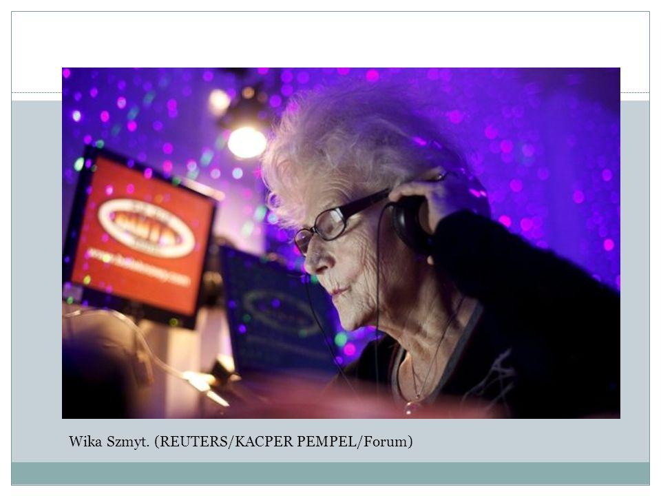 Wika Szmyt. (REUTERS/KACPER PEMPEL/Forum)