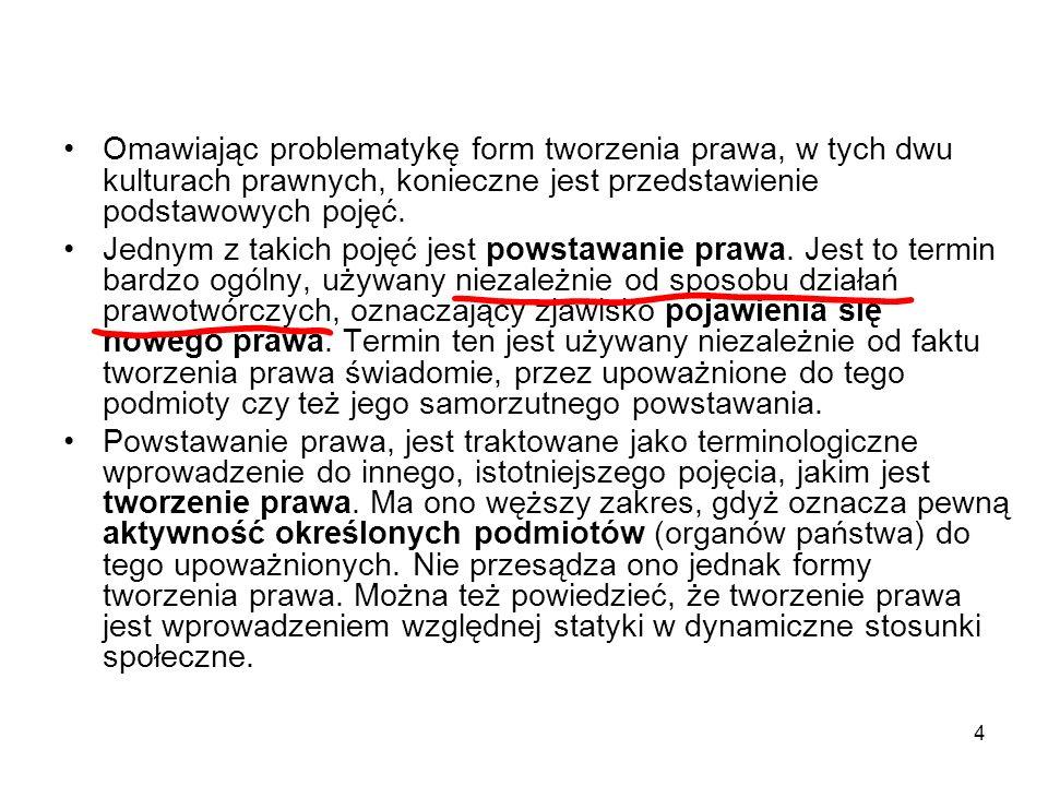 95 Nadzór nad aktami prawotwórczymi administracji 1.
