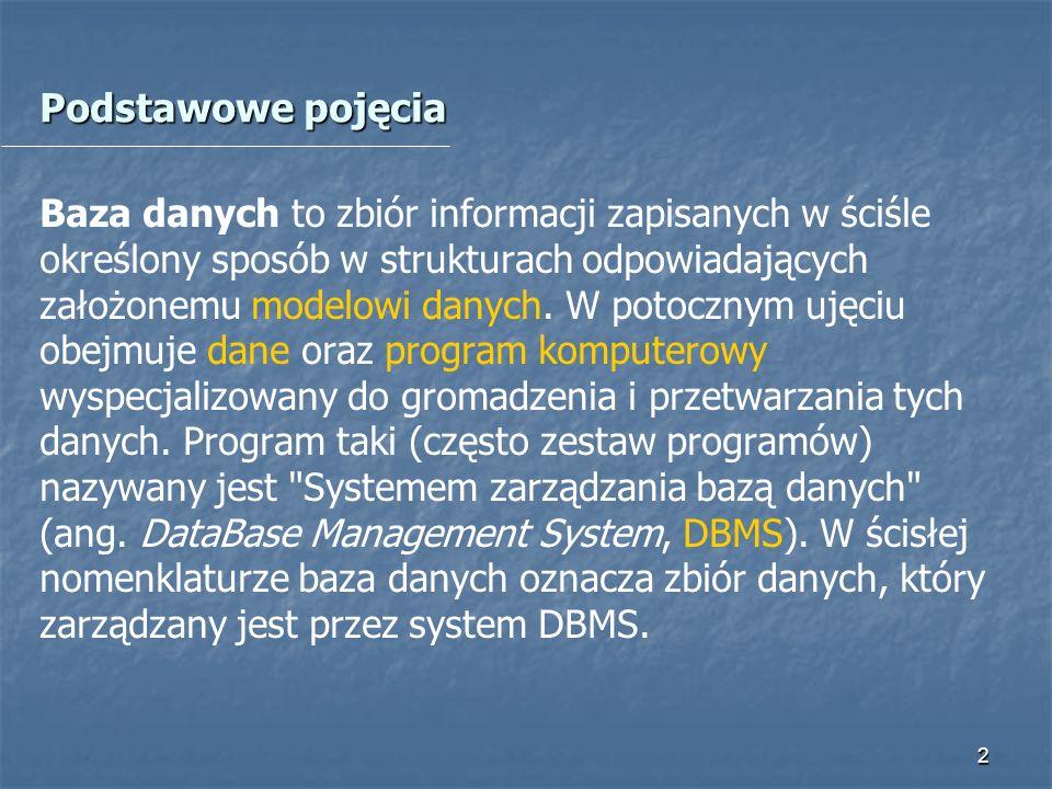 13 Tematy projektów do realizacji Zadanie 2.