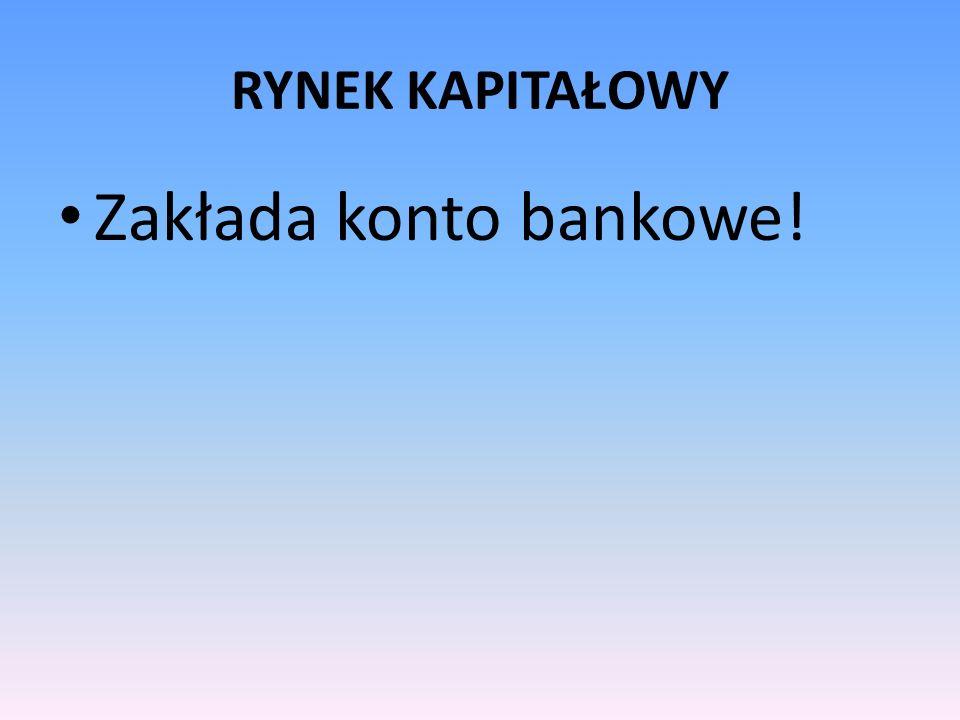 Komisja Nadzoru Finansowego W zakresie nadzoru nad rynkiem kapitałowym do zadań Komisji należy: 1) podejmowanie działań służących prawidłowemu funkcjonowaniu rynku kapitałowego 2) sprawowanie nadzoru nad działalnością podmiotów nadzorowanych oraz wykonywaniem przez te podmioty obowiązków związanych z ich uczestnictwem w obrocie na rynku kapitałowym, w zakresie określonym przepisami prawa; 3) podejmowanie działań edukacyjnych i informacyjnych w zakresie funkcjonowania rynku kapitałowego; 4) wykonywanie innych zadań określonych ustawami.