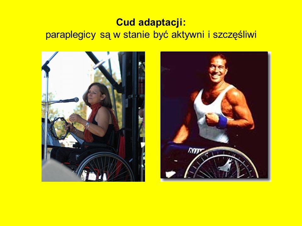 Cud adaptacji: paraplegicy są w stanie być aktywni i szczęśliwi