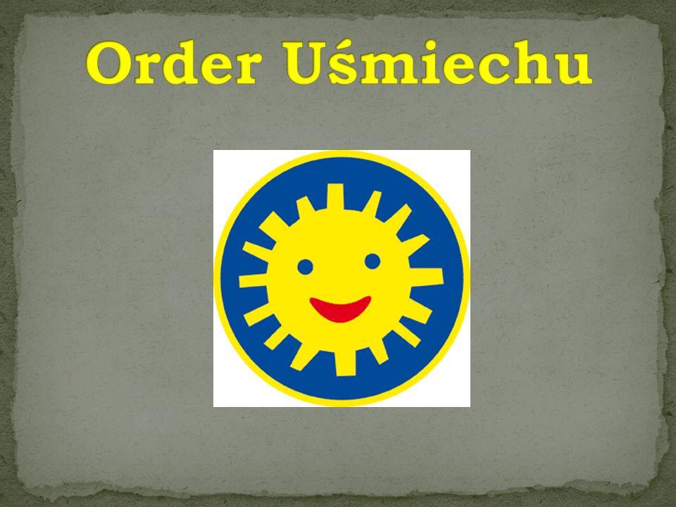 Order Uśmiechu można otrzymać za działania przynoszące dzieciom radość.