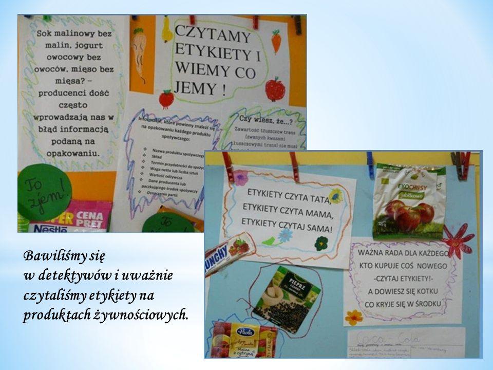 Wystawiając przedstawienia Na straganie, wskazywaliśmy na ogromne znaczenie warzyw i owoców dla naszego zdrowia.
