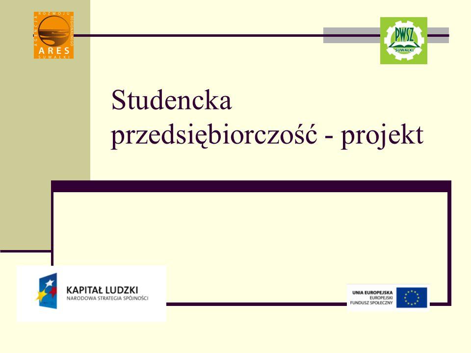 Studencka przedsiębiorczość - projekt